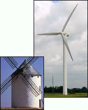 Windkraft fruher